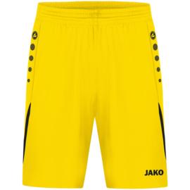 JAKO Short Challenge citroen/zwart (4421/301)