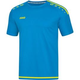 JAKO T-shirt/Shirt Striker 2.0 KM jakoblauw-fluogeel 4219/89