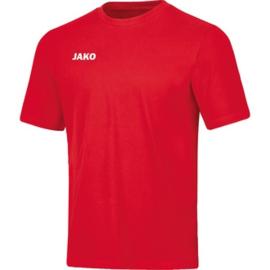 JAKO T-shirt  base rouge 6165/01
