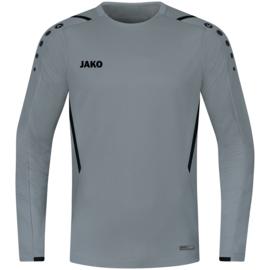JAKO Sweater Challenge steengrijs/zwart  (8821/841)