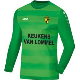 Keepershirt Leeds (+ Clublogo LIERSE + SPONSOR Keukens vna Lommel + ERA)