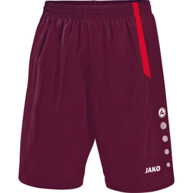 JAKO Short Turin marron-rouge 4462/14