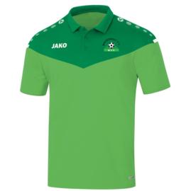 Polo champ 2.0 groen (met clublogo MINDERHOUT)(6320/22)
