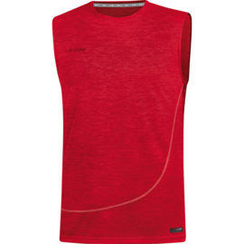 JAKO Tank top Active Basics rouge mélange 6049/01