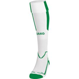 JAKO Kousen Lazio wit/groen 3866/60
