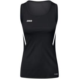 JAKO Tank top Challenge zwart/wit (6021/802)