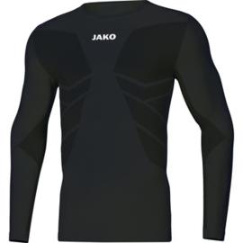 Shirt underwear comfort lange mouwen zwart (6455/08)