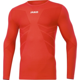 JAKO Shirt Comfort 2.0 flame 6455/18 (NEW)