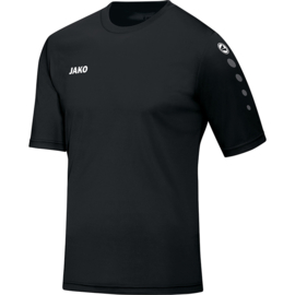 T-shirt team zwart (4233/08)