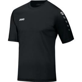 JAKO Shirt Team KM zwart 4233/08