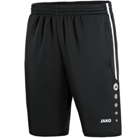 Trainingsshort Active zwart-wit