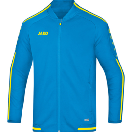 JAKO Veste de loisir Striker 2.0 bleu JAKO-jaune fluo 9819/89