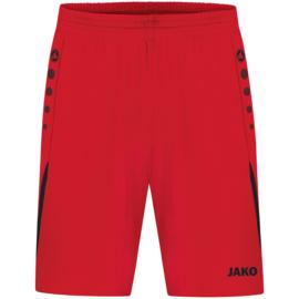 JAKO Short Challenge rood/zwart (4421/101)