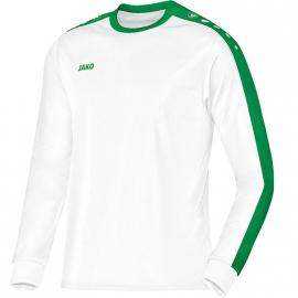 Shirt Striker LM wit-sportgroen met clublogo ( MVV )