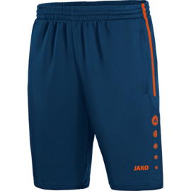 JAKO Trainingsshort Active navy-flame 8595/18