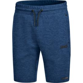 JAKO Short Premium Basics marine  gemeleerd 8529/49