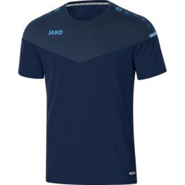 JAKO T-shirt Champ 2.0 hemelsblauw-marine 6120/95 (NEW)