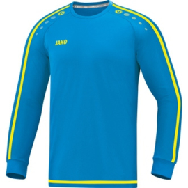 JAKO Shirt Striker 2.0 LM blauw-geel 4319/89 (NEW)