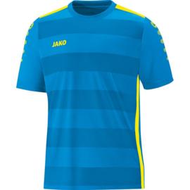 JAKO Shirt Celtic 2.0 KM JAKO blauw-fluo geel 4205/89