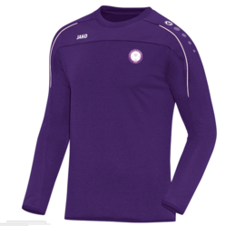 Sweater classico paars (met clublogo RAMSDONK) (8850/10)