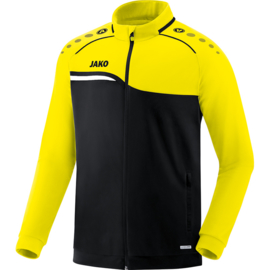 Jako Polyestervest Competition 2.0 zwart-fluo geel 9318/03