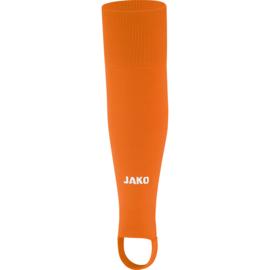 JAKO Kousen zonder voet Glasgow 2.0 fluo oranje 3414/19
