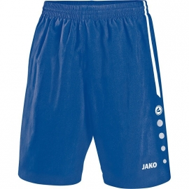 Jako Short Turin royal-wit 4462/04
