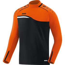 JAKO Sweater Competition 2.0 zwart-fluo oranje 8818/19