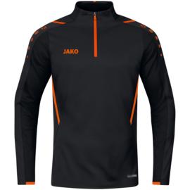 JAKO Ziptop Challenge zwart/fluo oranje (8621/807)