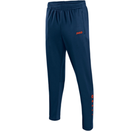 Jako Trainingsbroek Allround nachtblauw-flame 8415/18