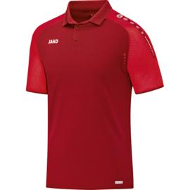 Jako Polo champ rouge 6317/01 (avec logos wadokai)