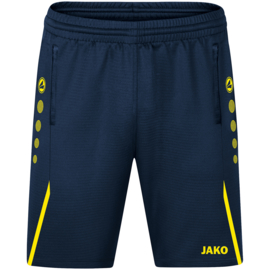 JAKO Traingsshort Challenge marine/fluogeel  (8521/904)