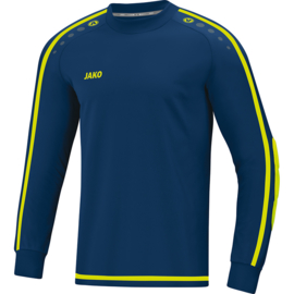 Jako Keepershirt Striker 2.0 navy-lemon 8905/09