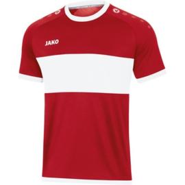 JAKO Shirt Boca KM chillirood-wit 4213/11