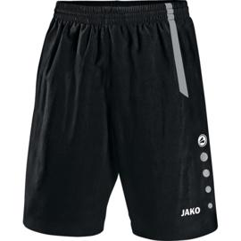 JAKO Short Turin noir/gris 4462/81