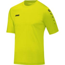 JAKO Shirt Team KM neongroen 4233/23