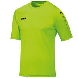JAKO Shirt Team KM fluogroen 4233/25