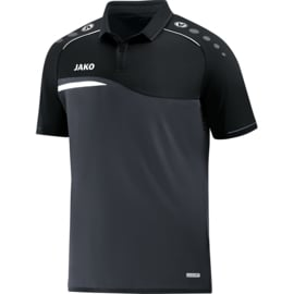 Jako Polo Competition 2.0 antraciet-zwart 6318/08