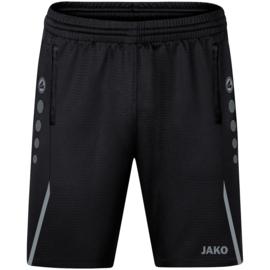 JAKO Traingsshort Challenge zwart/steengrijs (8521/811)
