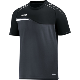 JAKO  T-shirt Competition 2.0 antraciet-zwart 6118/08