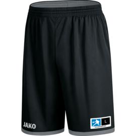 JAKO Reversible short Change noir-gris 4451/08