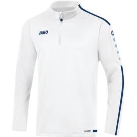 JAKO Ziptop striker 2.0  wit-marine 8619/90