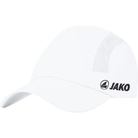Jako Casquette Active blanc 1297/00 (avec logo karaté tornatore)