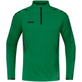 JAKO Ziptop Challenge sportgroen/zwart (8621/201)