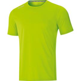 JAKO T-Shirt Run 2.0 fluogroen 6175/25