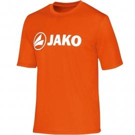 JAKO Functioneel T-Shirt fluo oranje 6164/19