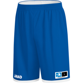 JAKO Reversible short Change 2.0 royal-wit 4451/04