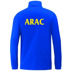Regenjas Team royal (+ Clublogo en ARAC achteraan)