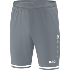 JAKO Short Striker 2.0 grijs-wit  4429/40