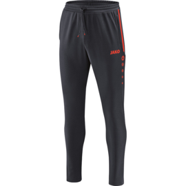 Jako Trainingsbroek Prestige antraciet-flame 8458/40